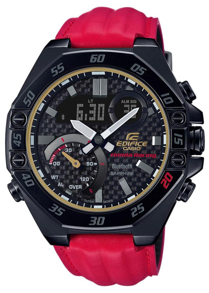 EDIFICE ECB-10HR-1AER - zegarek męski