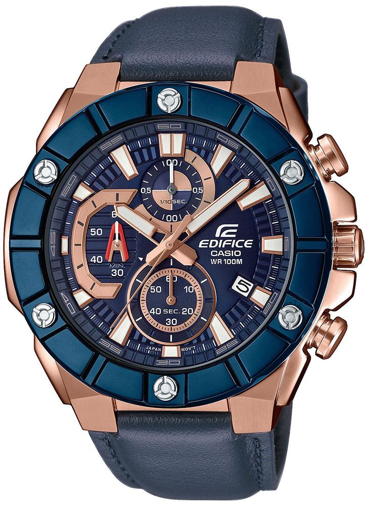 Edifice EFR-569BL-2AVUEF - zegarek męski