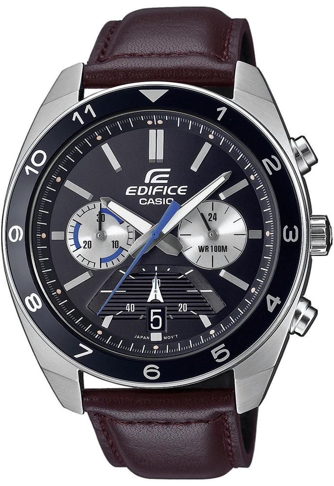 Casio EDIFICE EFV-590L-1AVUEF - zegarek męski