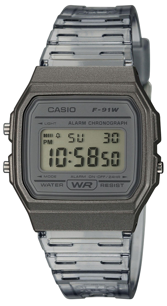 Casio Vintage F-91WS-8EF - zegarek damski