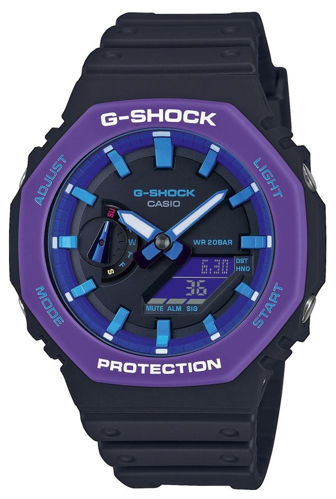 G-Shock GA-2100THS-1AER - zegarek męski