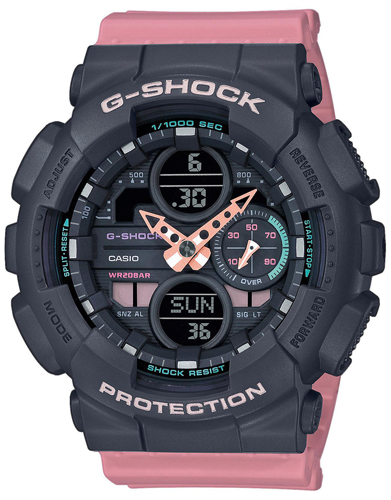 Casio G-SHOCK GMA-S140-4AER - zegarek damski