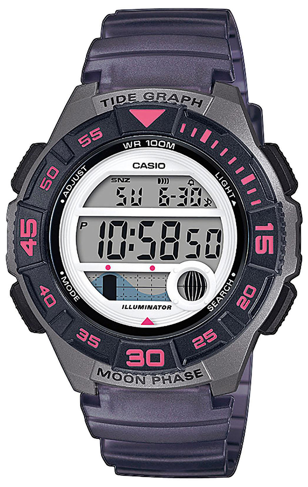 Casio LWS-1100H-8AVEF - zegarek damski