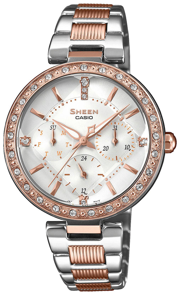 Casio Sheen SHE-3068SPG-7AUER - zegarek damski