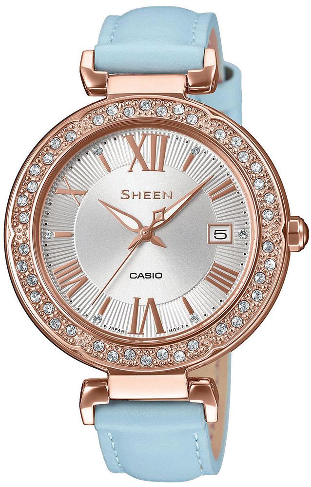 Casio Sheen SHE-4057PGL-7BUER - zegarek damski