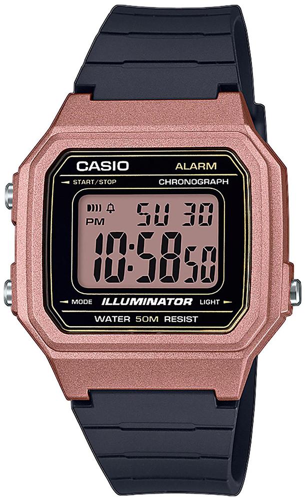 Casio W-217HM-5AVEF - zegarek męski