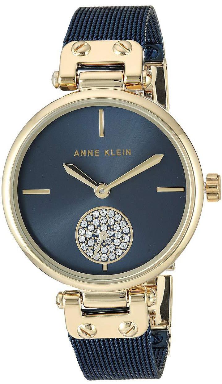 Anne Klein AK-3001GPBL - zegarek damski