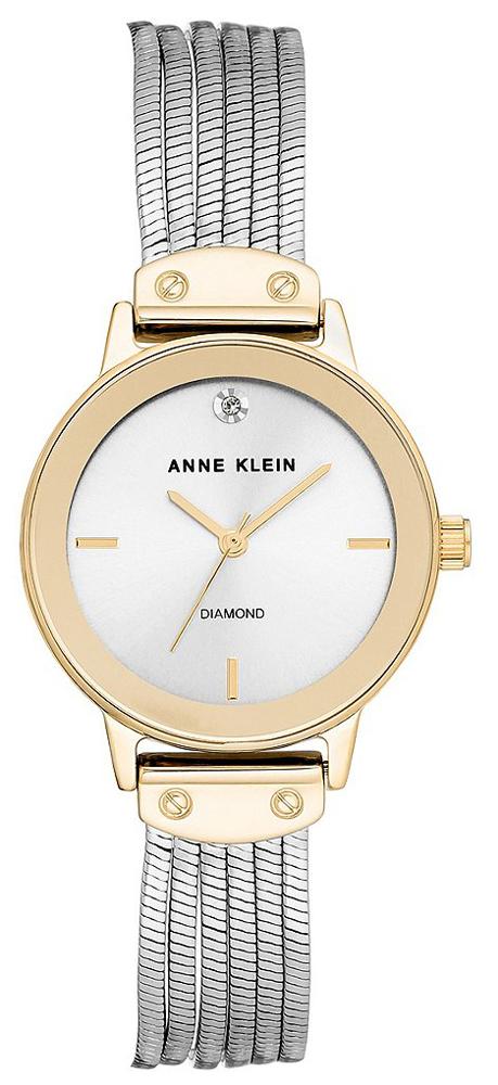 Anne Klein AK-3221SVTT - zegarek damski