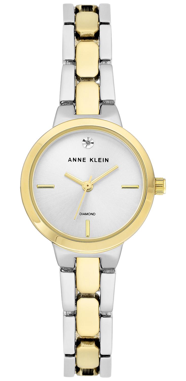 Anne Klein AK-3235SVTT - zegarek damski