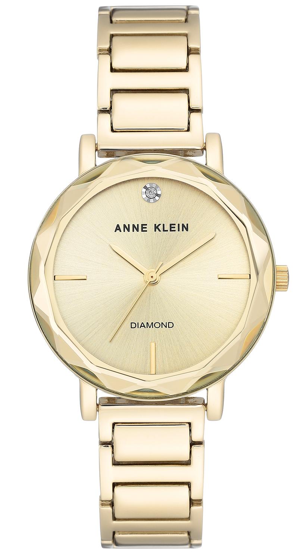 Anne Klein AK-3278CHGB - zegarek damski