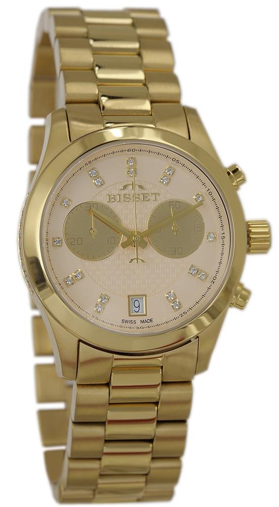Bisset BSBE22GIGX05AX - zegarek damski