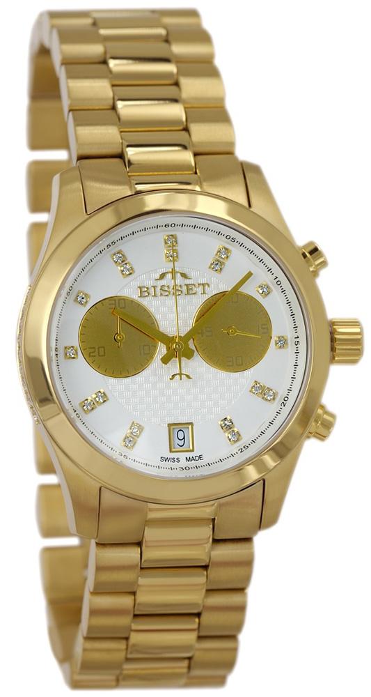 Bisset BSBE22GIWG05AX - zegarek damski