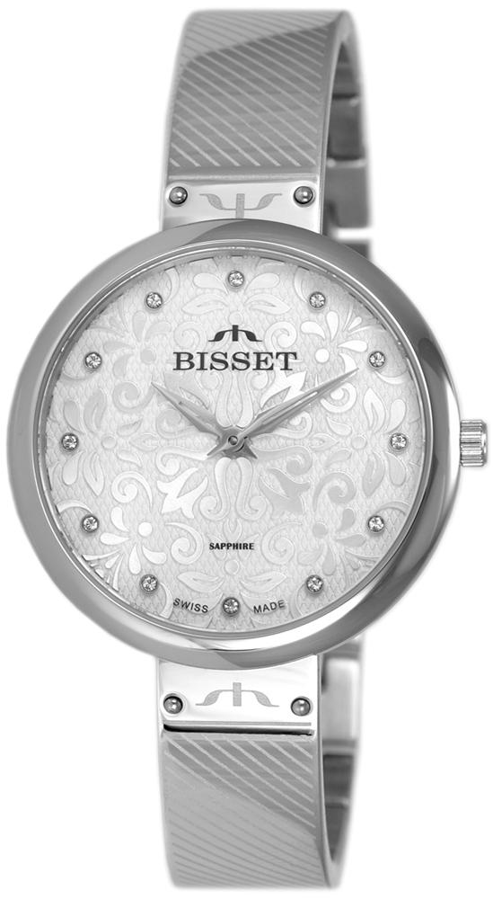 Bisset BSBF20SISX03BX - zegarek damski