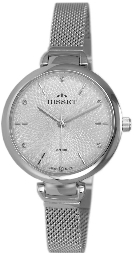 Bisset BSBF22SISX03BX - zegarek damski