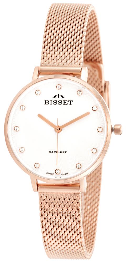 Bisset BSBF30RISX03BX - zegarek damski