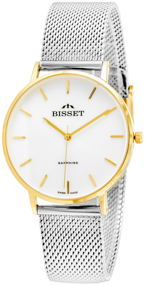 Bisset BSBF33GISX03BX - zegarek damski