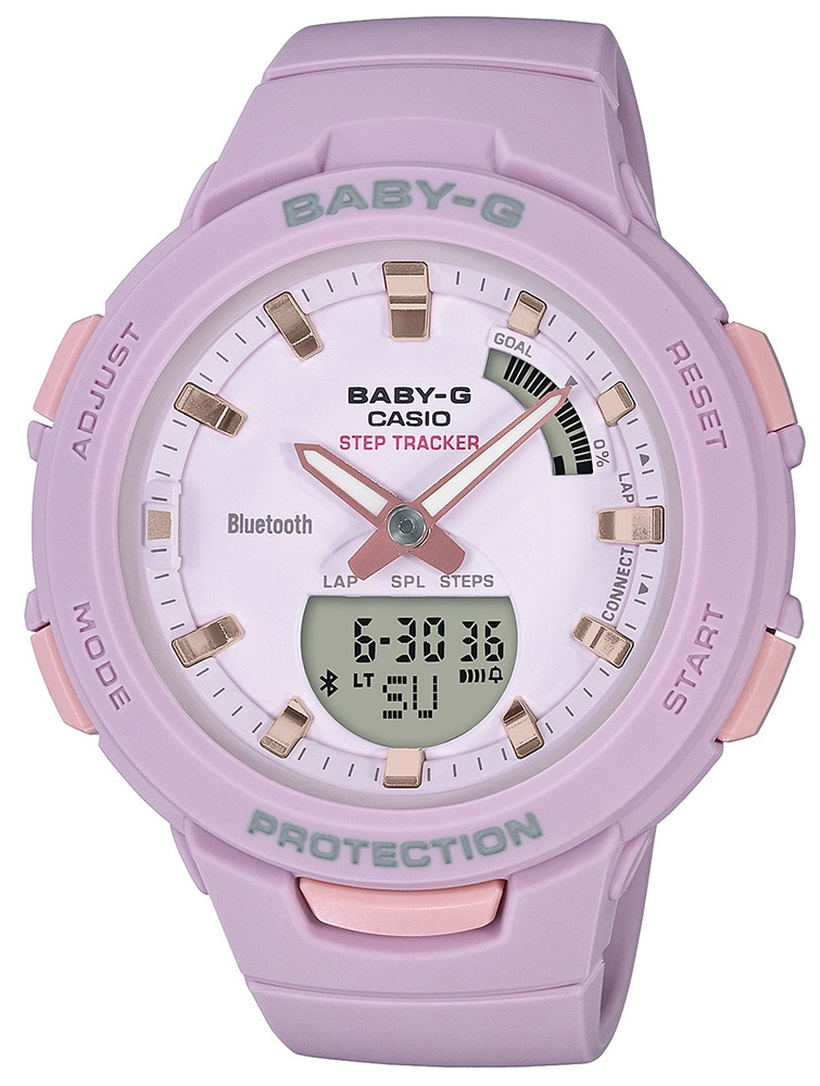 Casio Baby-G BSA-B100-4A2ER - zegarek damski