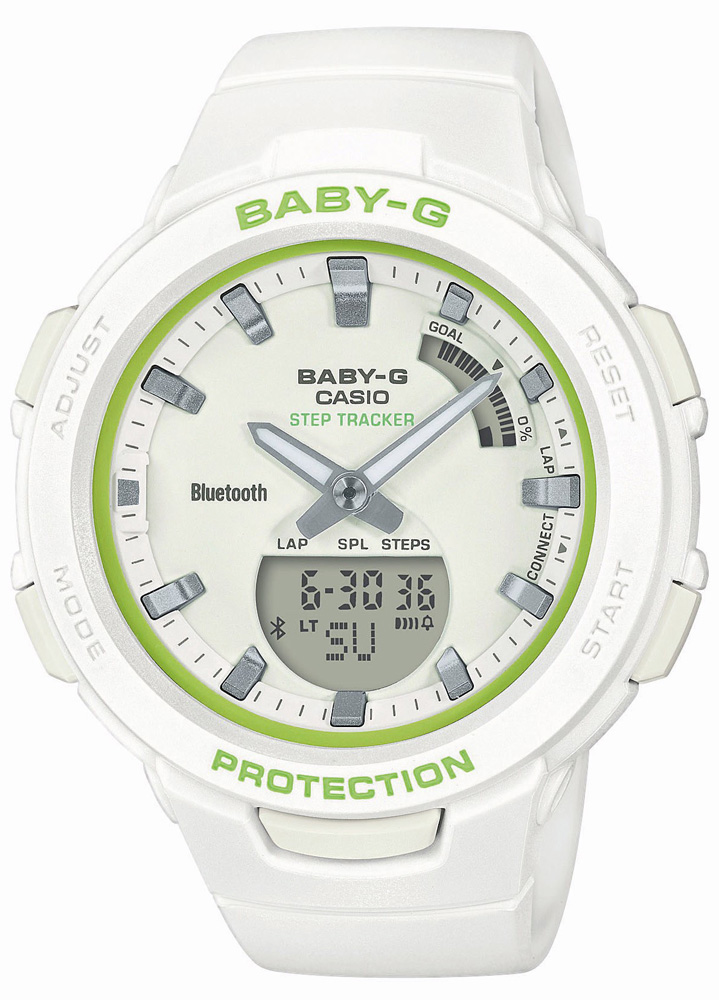 Casio Baby-G BSA-B100SC-7AER - zegarek damski