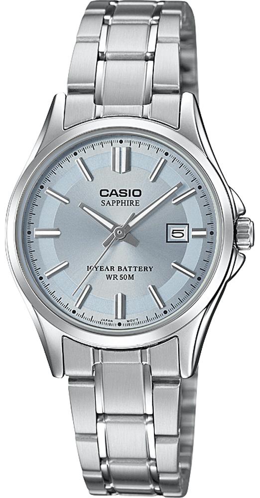 Casio LTS-100D-2A1VEF - zegarek damski