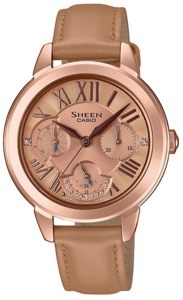 Casio Sheen SHE-3059PGL-5AUER - zegarek damski