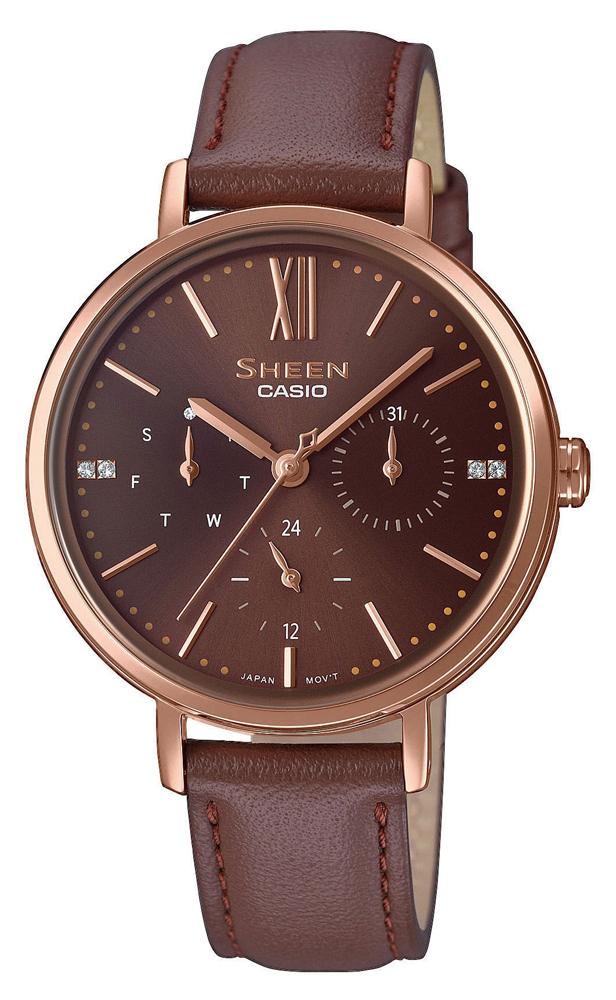 Casio Sheen SHE-3064PGL-5AUER - zegarek damski
