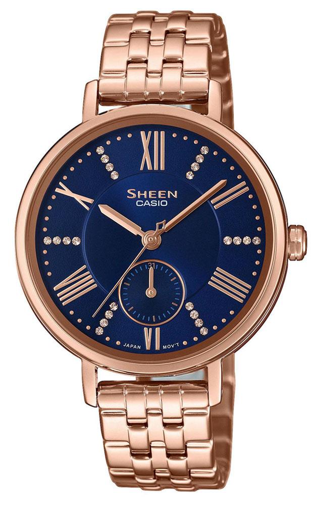 Casio Sheen SHE-3066PG-2AUEF - zegarek damski