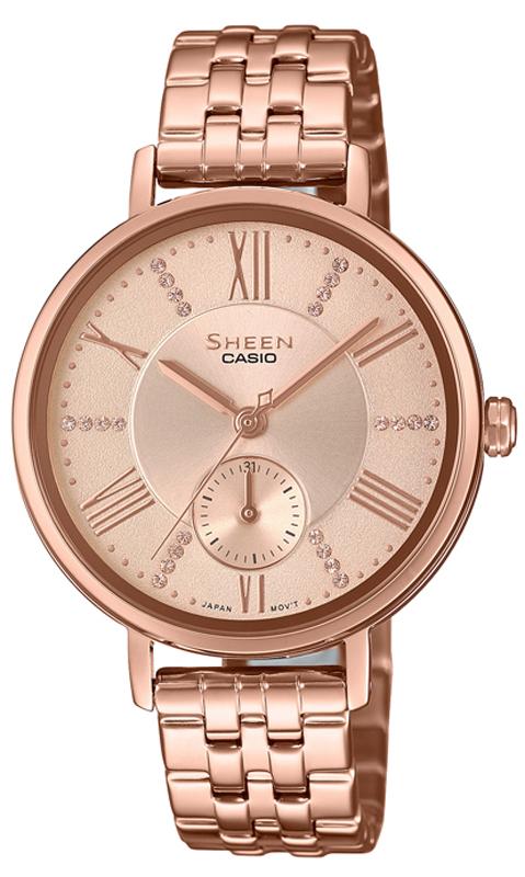 Casio Sheen SHE-3066PG-4AUEF - zegarek damski