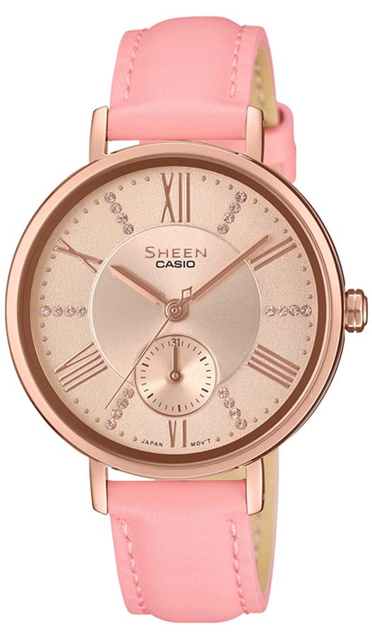 Casio Sheen SHE-3066PGL-4AUEF - zegarek damski