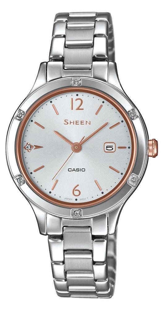 Casio Sheen SHE-4533D-7AUER - zegarek damski