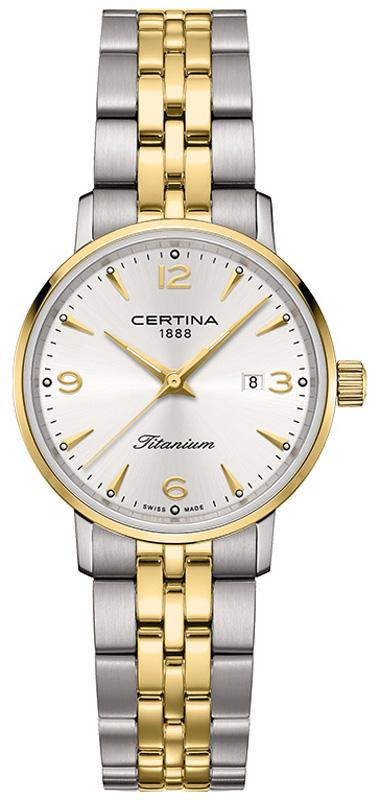 Certina C035.210.55.037.02 - zegarek damski