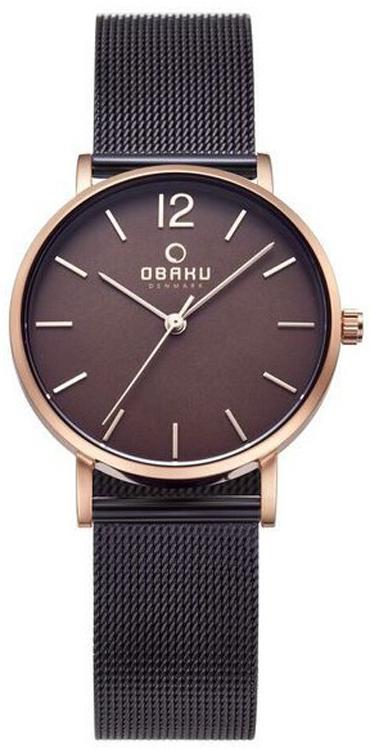 Obaku Denmark V197LXVNMN1 - zegarek damski