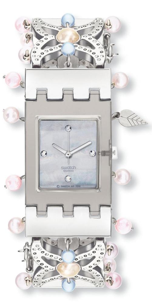 Swatch SUBM106B - zegarek damski