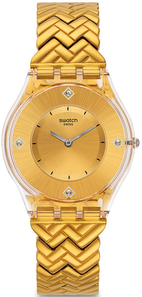 Swatch SFE106G - zegarek damski