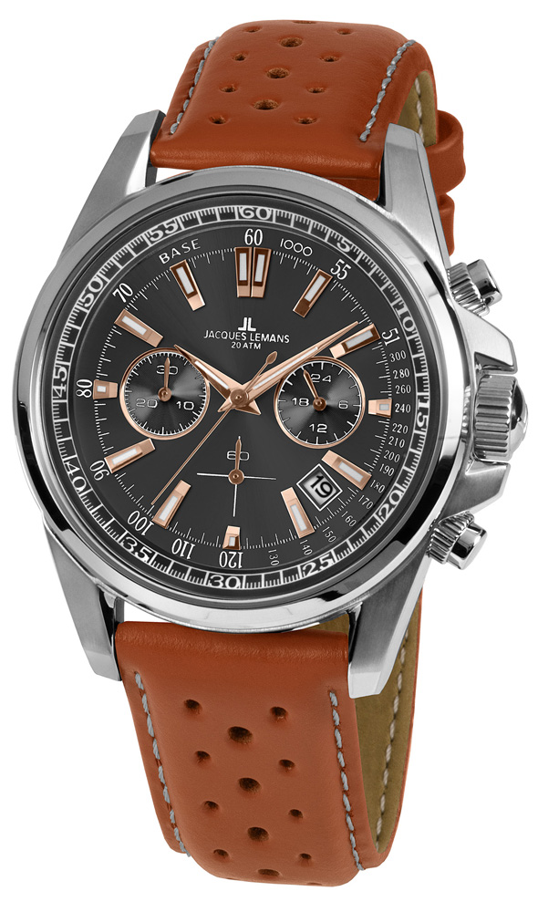 Jacques Lemans 1-1117.1WP - zegarek męski