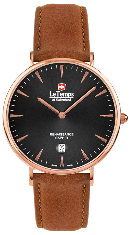 Le Temps LT1018.57BL52 - zegarek męski