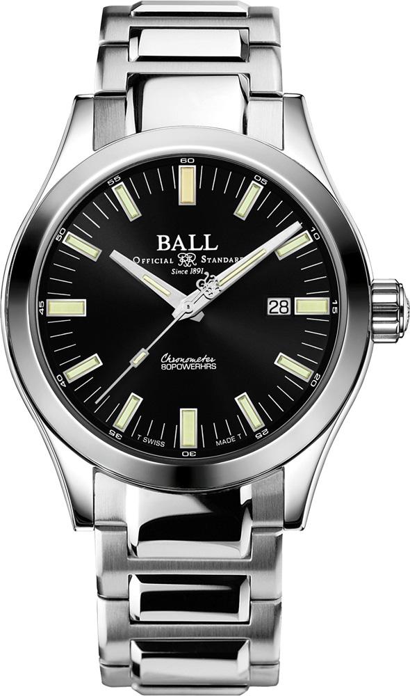 Ball NM2128C-S1C-BK - zegarek męski