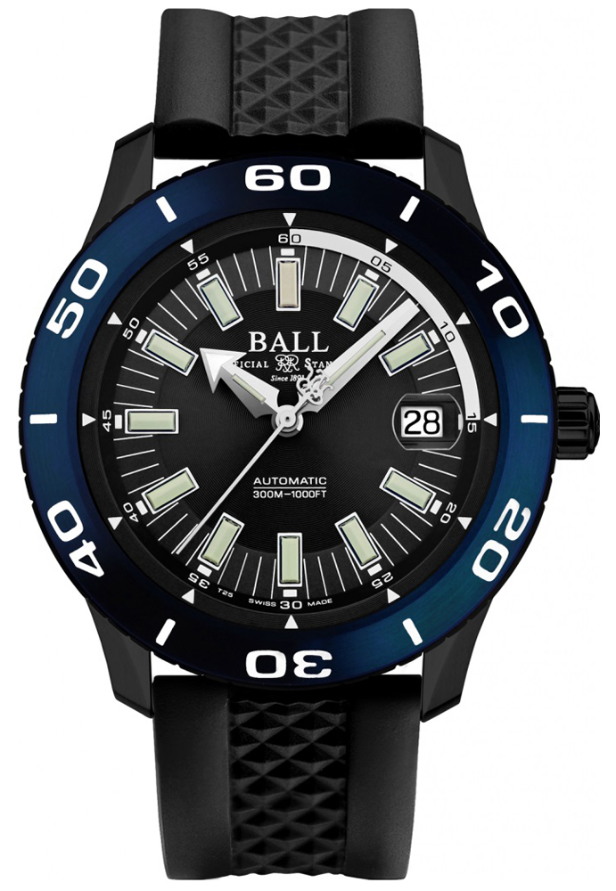 Ball DM3090A-P5J-BK - zegarek męski
