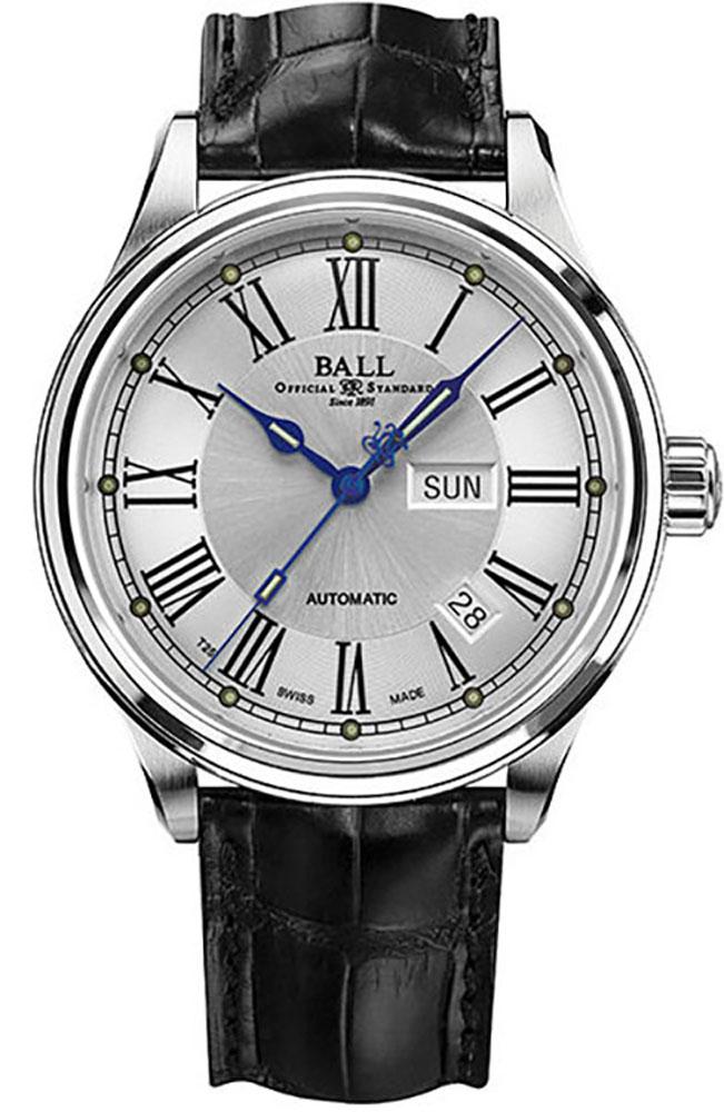 Ball NM1058D-L4J-WH - zegarek męski