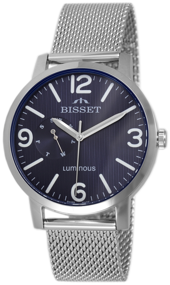 Bisset BSDE72SMDX03AX - zegarek męski