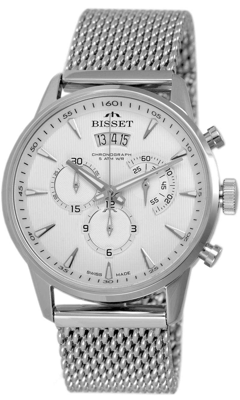 Bisset BSDE88SISX05AX - zegarek męski