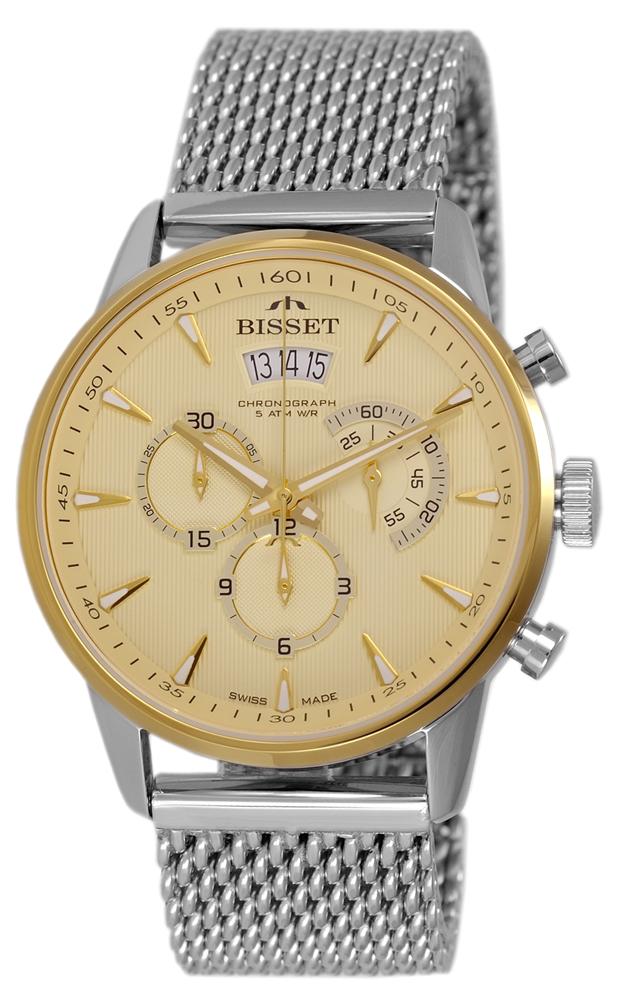 Bisset BSDE88TIGX05AX - zegarek męski
