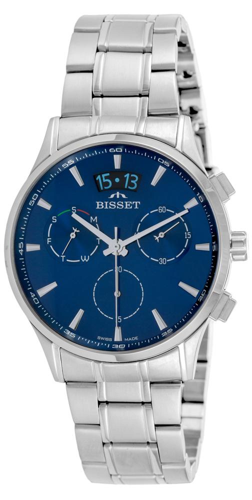 Bisset BSDF34SIDX05AX - zegarek męski