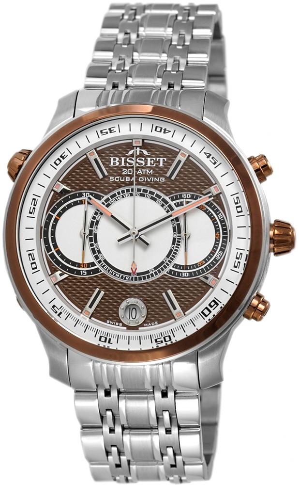 Bisset BSDE95TIRY20AX - zegarek męski