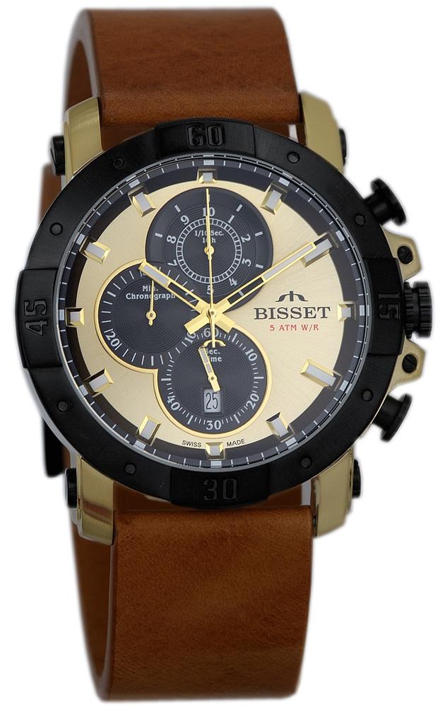 Bisset BSCD91TIGB05AX - zegarek męski