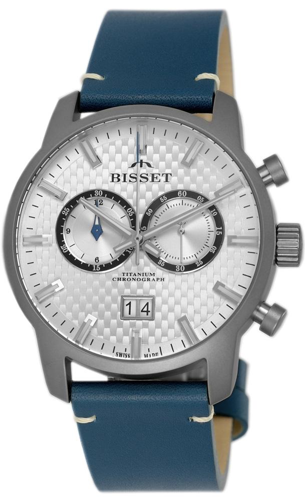 Bisset BSCF19DISX05BX - zegarek męski