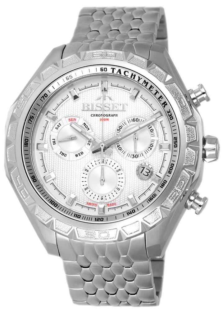 Bisset BSDF13SISX10AX - zegarek męski