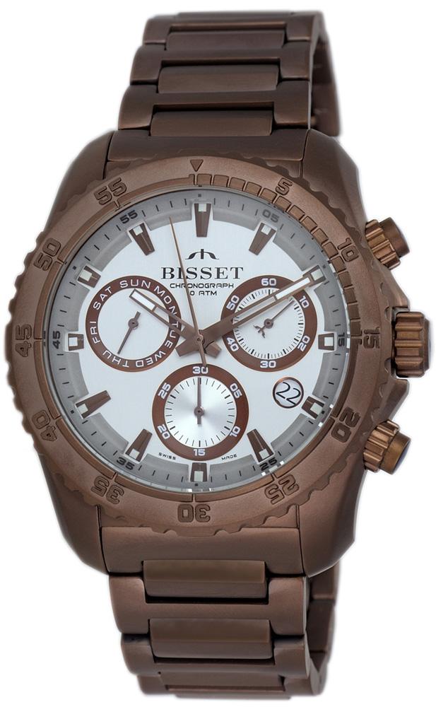 Bisset BSDF16VISY10BX - zegarek męski