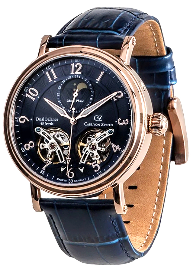 Carl von Zeyten CVZ0054RBL - zegarek męski