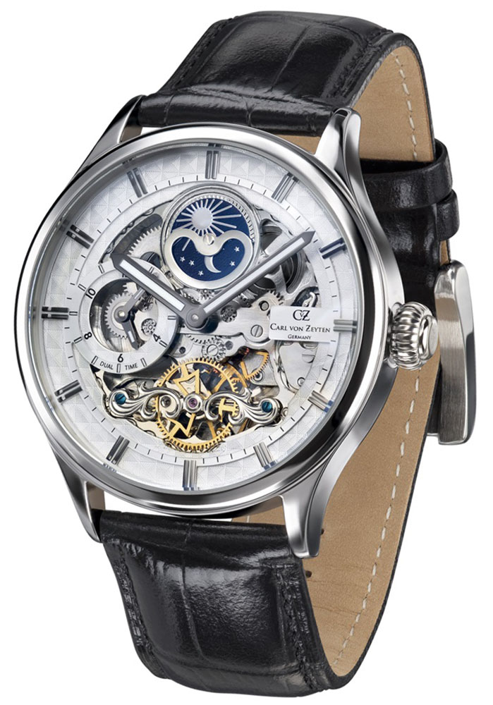 Carl von Zeyten CVZ0008WH - zegarek męski