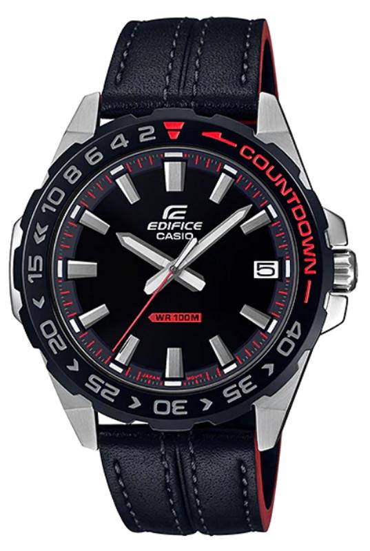 EDIFICE EFV-120BL-1AVUEF - zegarek męski